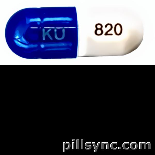CAPSULE BLUE KU 820 Esomeprazole 20 MG Delayed Release Oral Capsule