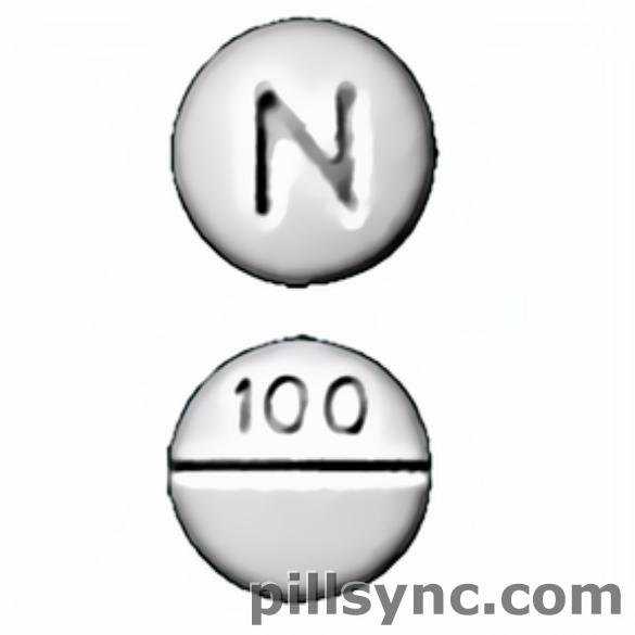 round white N 100 score Canada chlorpromazine 100 mg