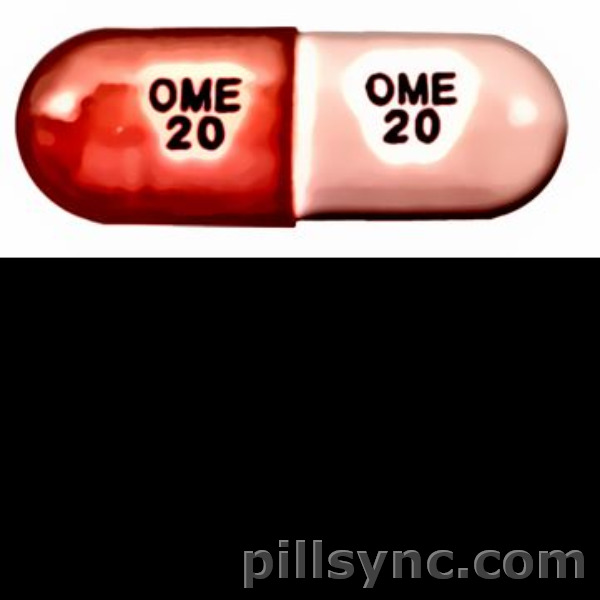 pink capsule OME 20 Canada omeprazole 20 mg