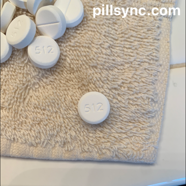 ROUND WHITE 512 APAP 325 MG  oxycodone hydrochloride 5 MG Oral Tablet